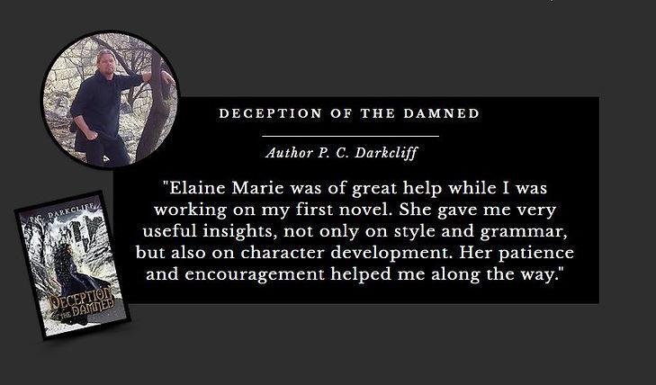 Author Elaine Marie Carnegie