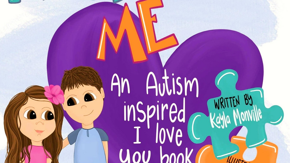 Rock With Me Autism Inspired I Love You Book!