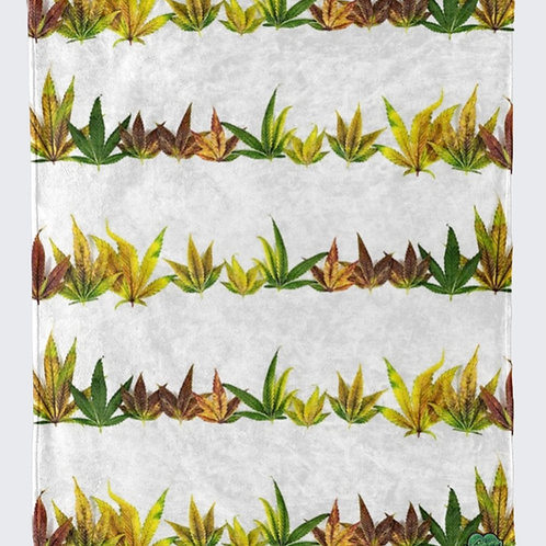 Leaf Stripe Blanket