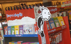Wimpy Kid Endcap (Temporary)