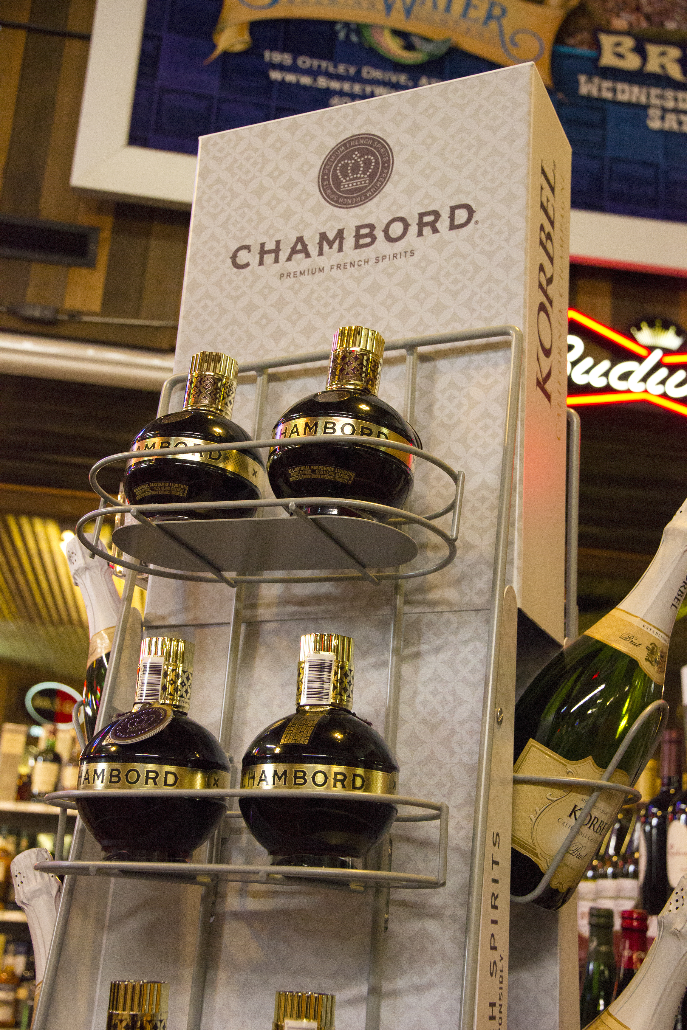 Chambord Floor Display