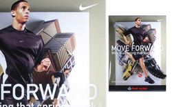 Nike / Footlocker Window Banner