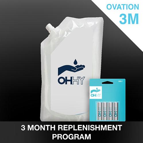 OVATION 3 Month Replenishment