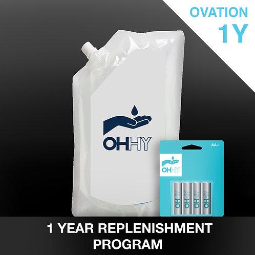 OVATION 1 Year Replenishment
