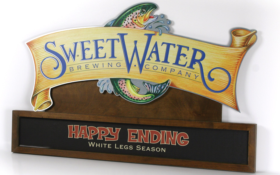 Sweetwater Seasonal Changeable Sign