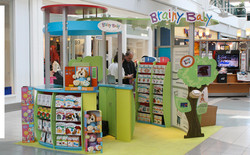 Brainy Baby Mall Kiosk