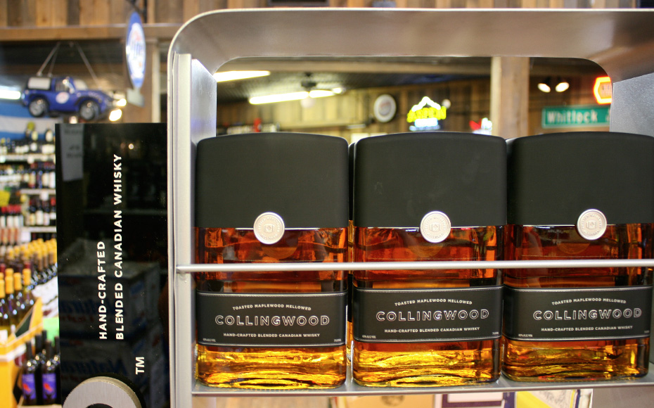 Collingwood Whisky Floor Display