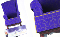 Crown Royal 3D Chair Topper