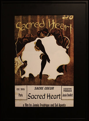 Sacred Heart Movie Poster   Framed