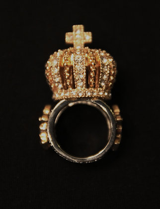 Nichel's Crown Life Decorative Ring