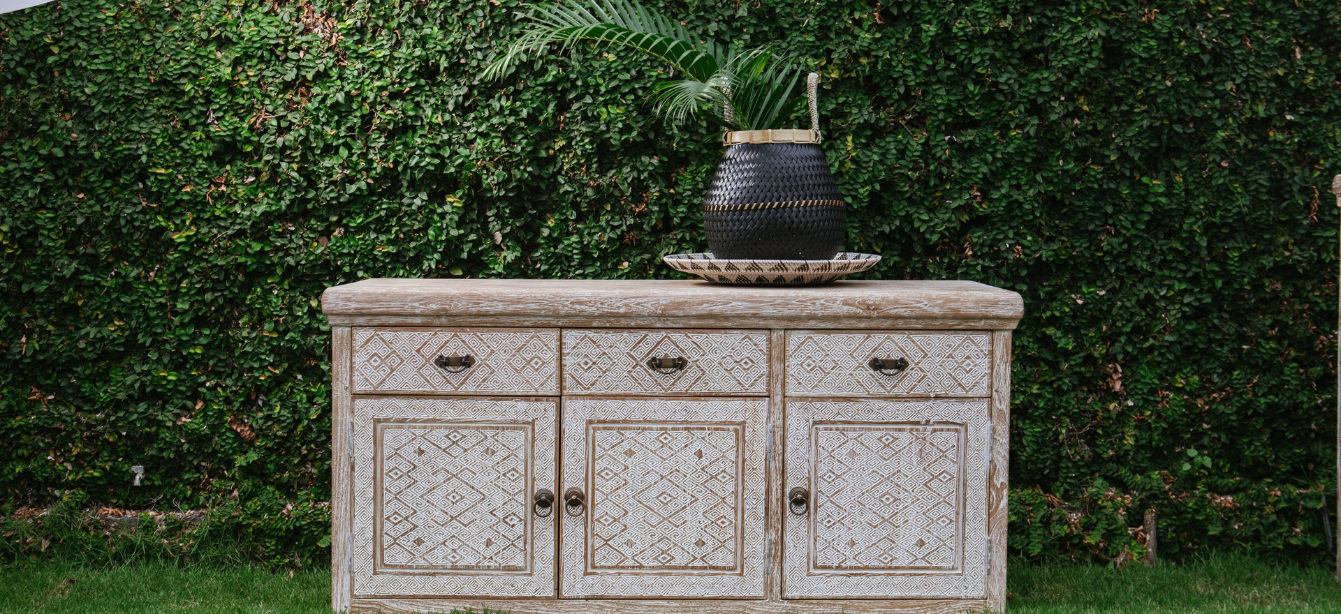 NATURA large chest of drawers with doors