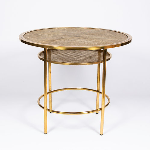 'SOHO' LOW CAFE TABLE - GOLD