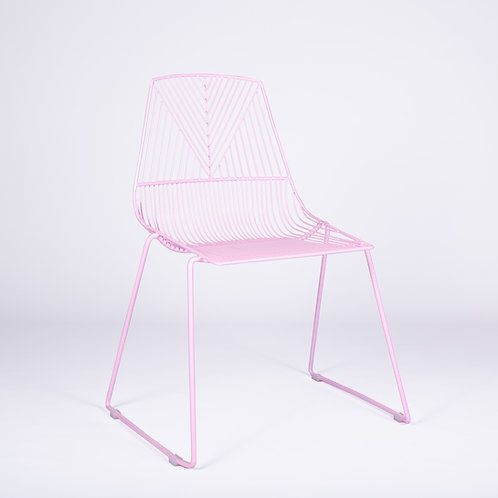 PINK ARROW CHAIR