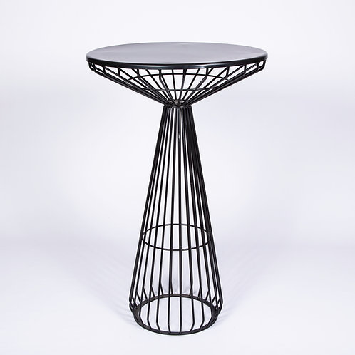 BLACK CAGE COCKTAIL TABLE