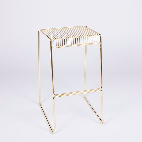GOLD NO-BACK STOOL