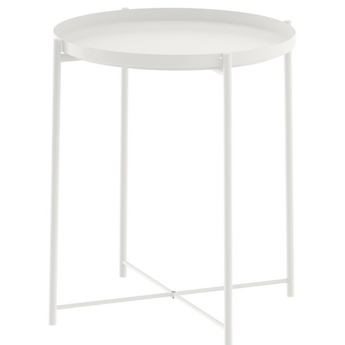 SIDE TABLE WHITE