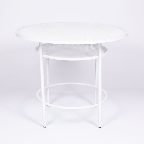 'SOHO' LOW CAFE TABLE - WHITE