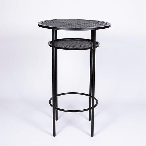 'SOHO' TALL COCKTAIL TABLE - BLACK