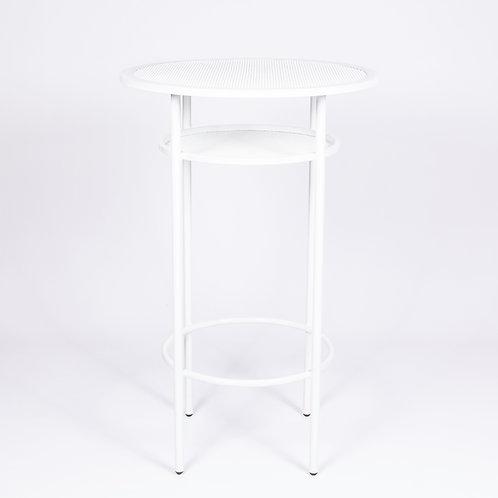 'SOHO' TALL COCKTAIL TABLE - WHITE
