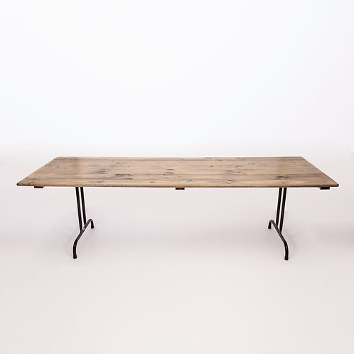 TIMBER TRESTLE TABLE (780)