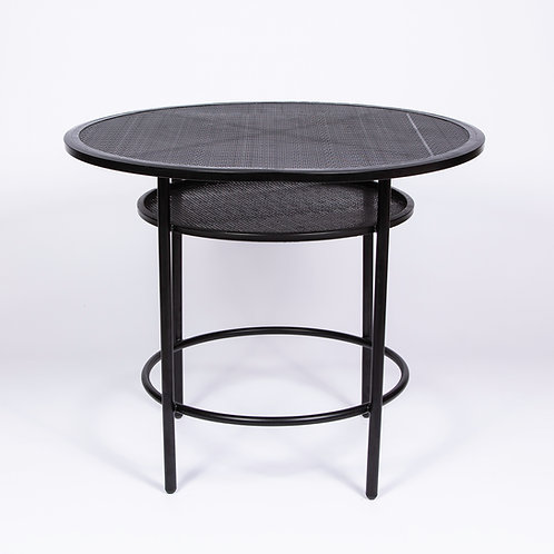 'SOHO' LOW CAFE TABLE - BLACK