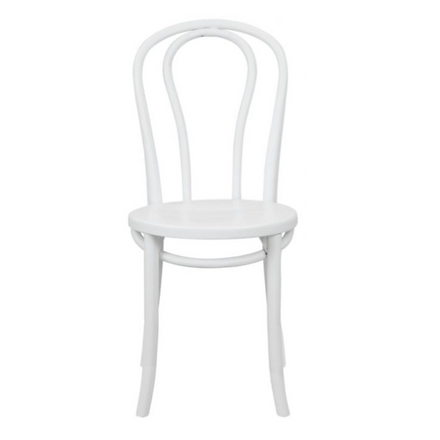 BENTWOOD CHAIR WHITE