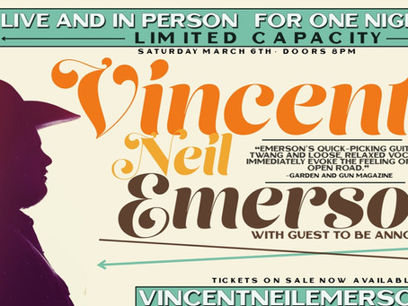 5 QUESTIONS WITH VINCENT NEIL EMERSON