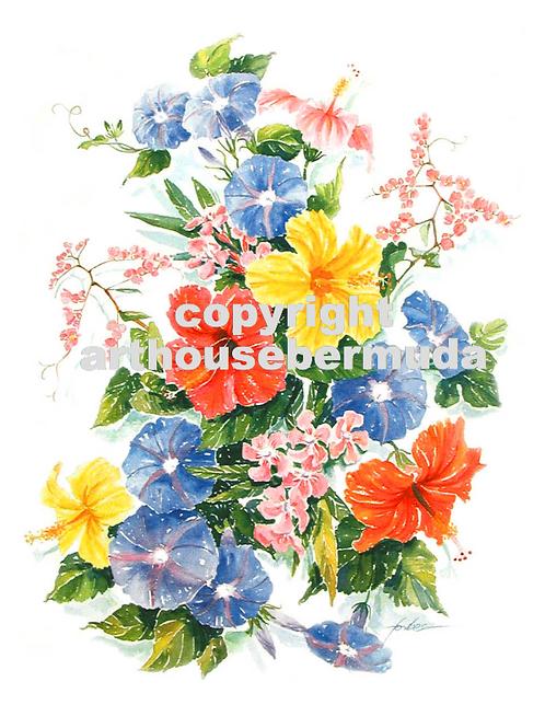 221 Floral Sparkle