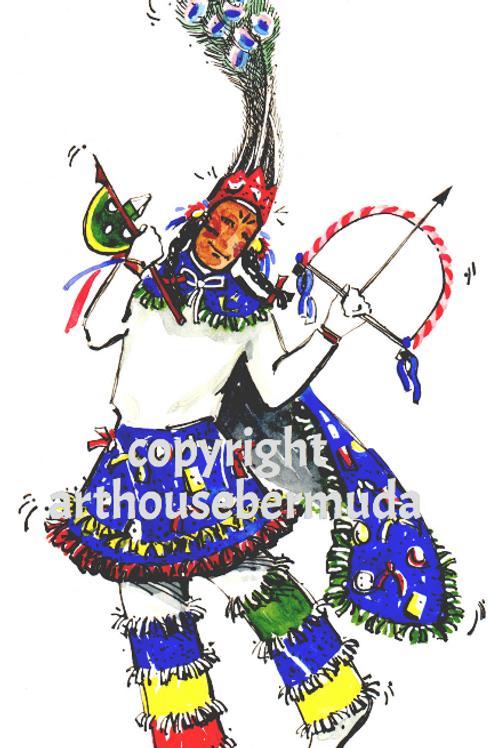 Gombey Dancer II