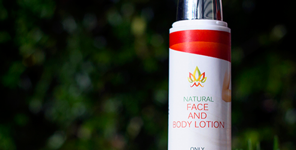 Natural Face and body Lotion - 50ml