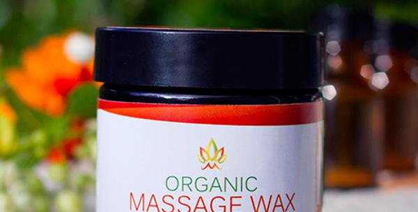 Organic Massage Wax 100ml Martelletti