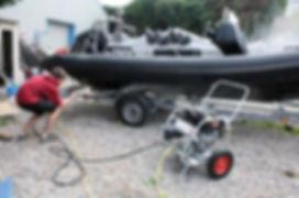 SeaBlast power washer in new zealand