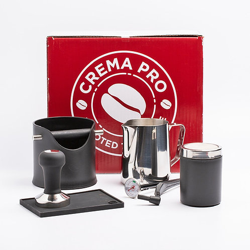 Crema Pro Barista Kit - Red / Black