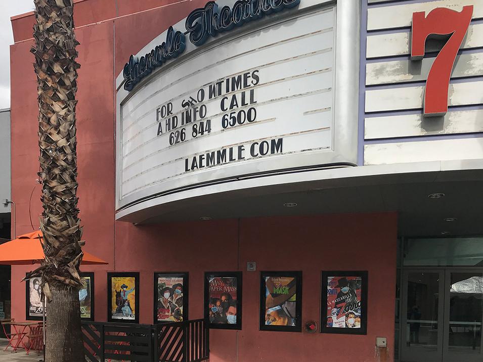Laemmle Playhouse, Pasadena CA