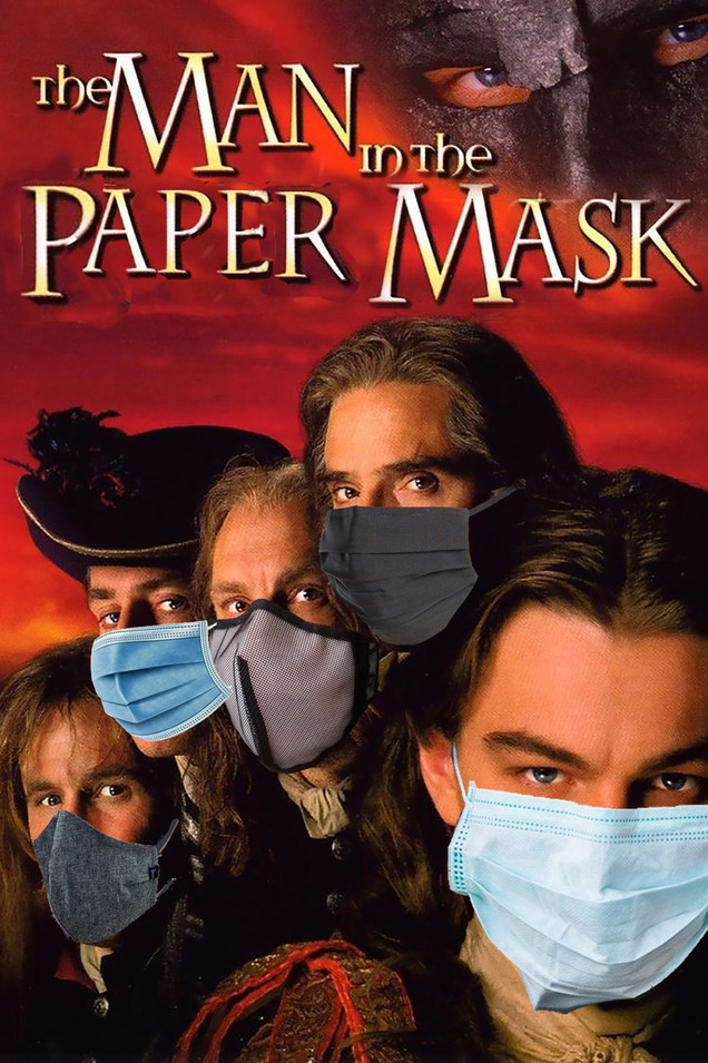 The Man in the Paper Mask