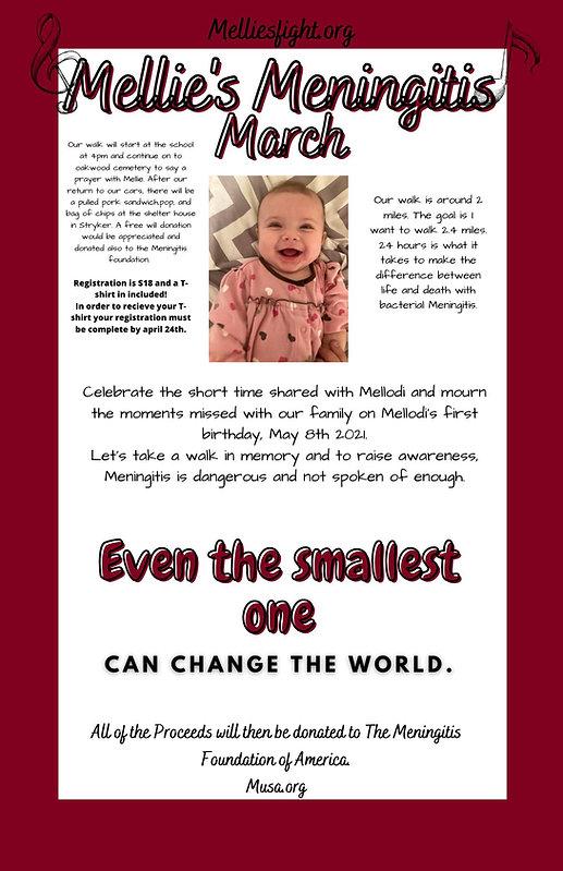 sent by Katelyn - Mellodi's fight poster
