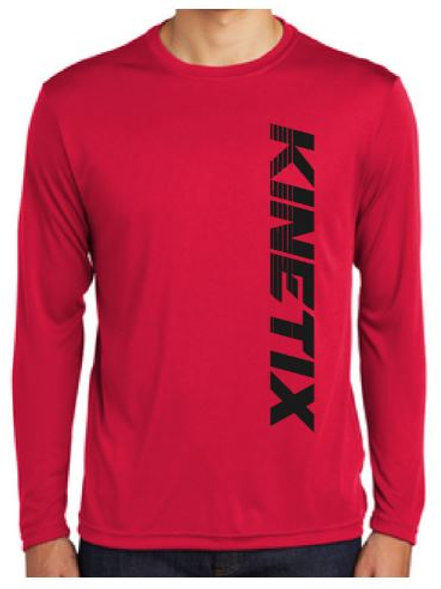 Kinetix Modern Long Sleeve Performance Tee