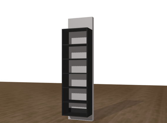 """24"""" X 84"""" Open cabinet $339.99 Installed!!"""