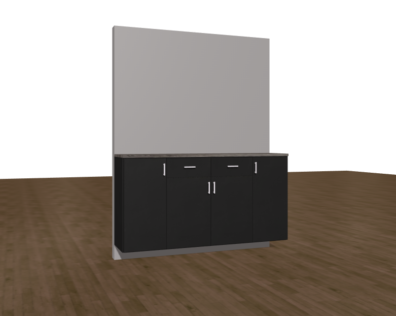 Garage floating work bench 6' $1299.00 Installed!!