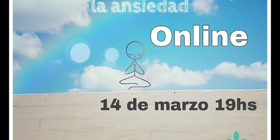 Mindfulness para manejar la ansiedad - online!