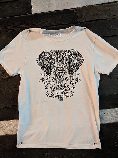 Mendala Elephant T-Shirt