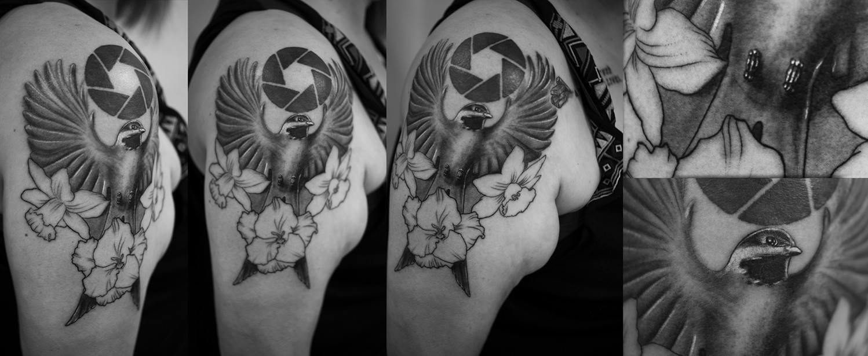 Heather bird tattoo