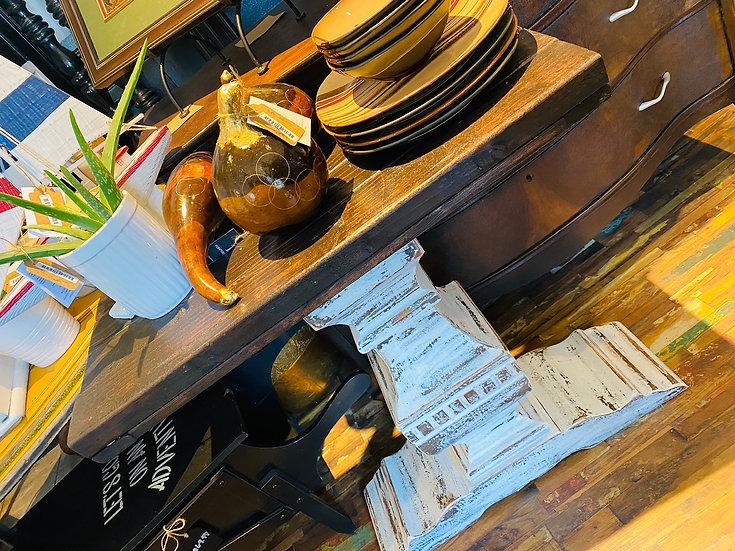 Arhaus side table with Custom Top