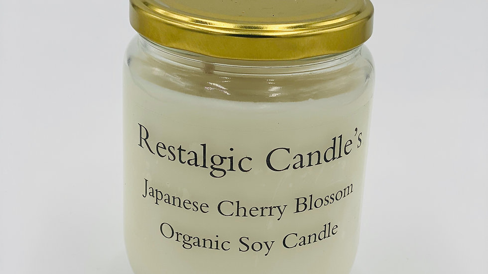 Japanese Cherry Blossom Candle