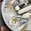 Thumbnail: Arhaus Dinette table - Gray & Gold