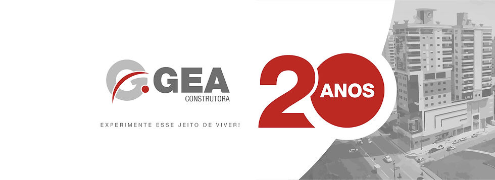 Gea Construtora - 20 Anos - Banner Site.