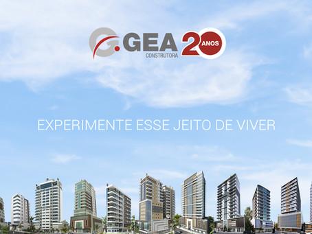 GEA CONSTRUTORA - 20 ANOS DE HISTÓRIA