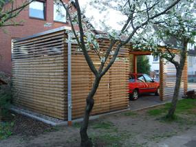 Anbau Wohnhaus mit Carport in Hannover