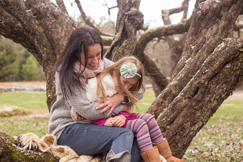 mother and daughter portrait session by katherine elizabeth photography