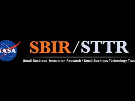 NASA STTR Award Alert!